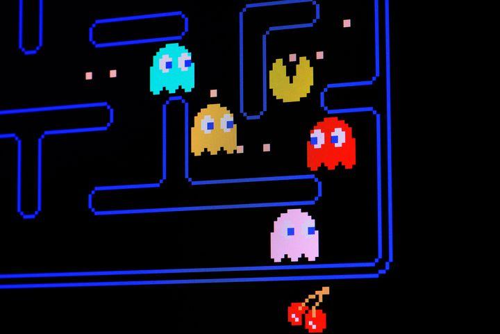 """Ein Bild des Spiels """"Pac-Man"""""""