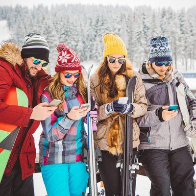 """Mit der App """"iSKI Austria"""" haben User alle Informationen rund um das Skigebiet am Schirm."""