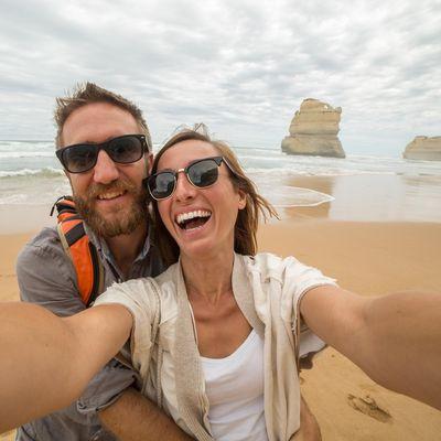 """Selfies mit der Sofortbildkamera: Die Fujifilm """"instax mini 9"""" macht es möglich."""
