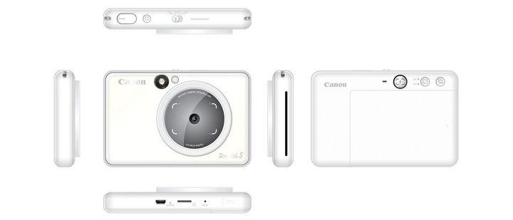 Canon Zoemini S: NFC- und Bluetooth-fähig, Drucker mit tintenloser Zink-Technologie, MicroSD-Anschluss.
