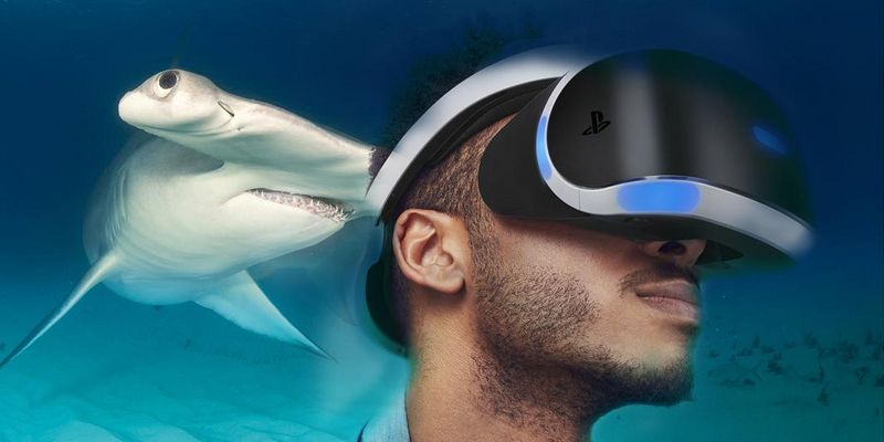 Mit dem Headset der PlayStation VR in YouTube-Videos eintauchen.