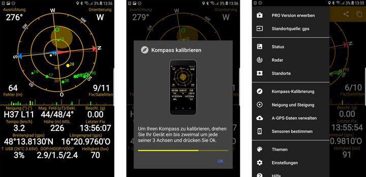 GPS-Genauigkeit verbessern.
