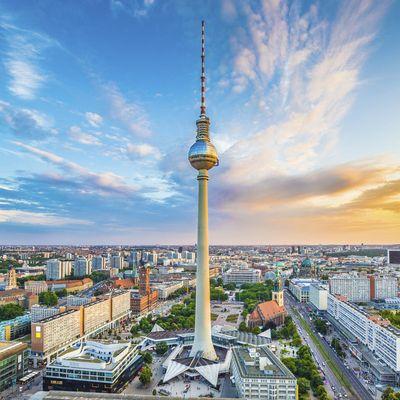 Skyline über Berlin.