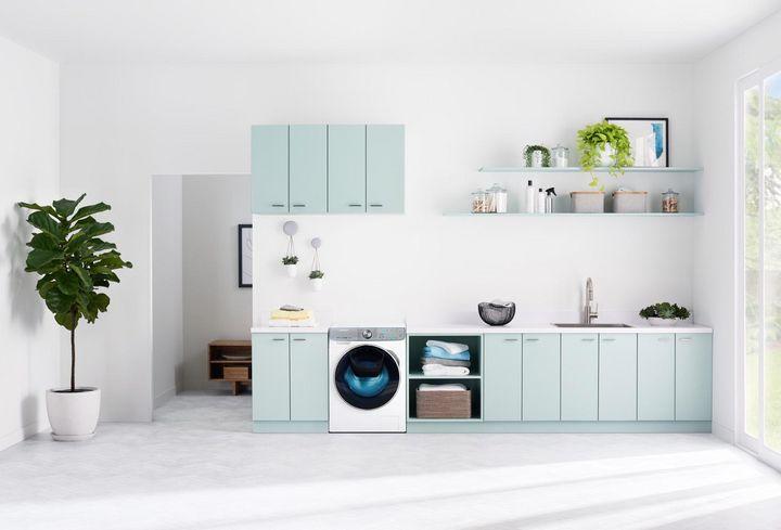 Innovative Features wie SpeedSpray-Düse und Trommel mit neuer Struktur sind Highlights der neuen Samsung Quick-Drive Waschmaschinen.
