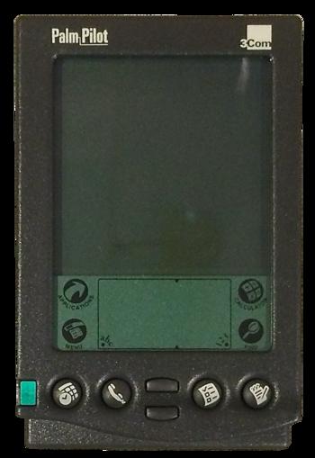 Einer der ersten erfolgreichen PDAs.