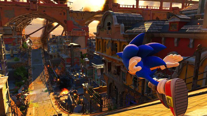 """Ein Screenshot aus """"Sonic Forces"""""""