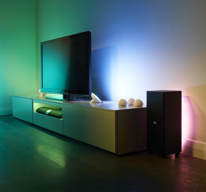 Farbiges Licht sorgt für gute Laune