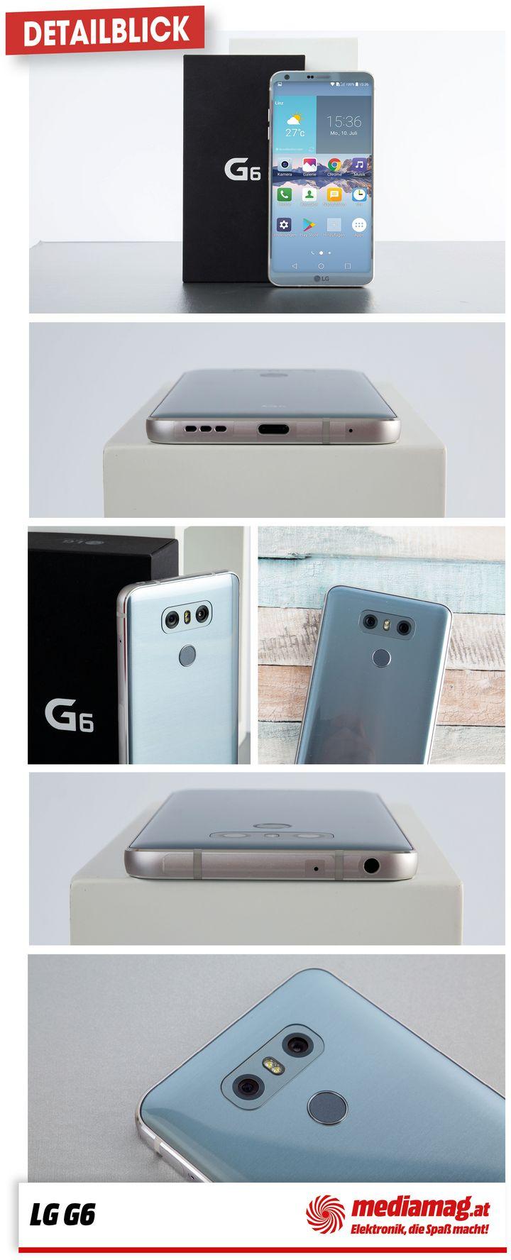 Die besten Features des neuen Smartphone-Flaggschiffs von LG, dem G6.