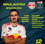 FC Red Bull Salzburg: Benjamin Zidej