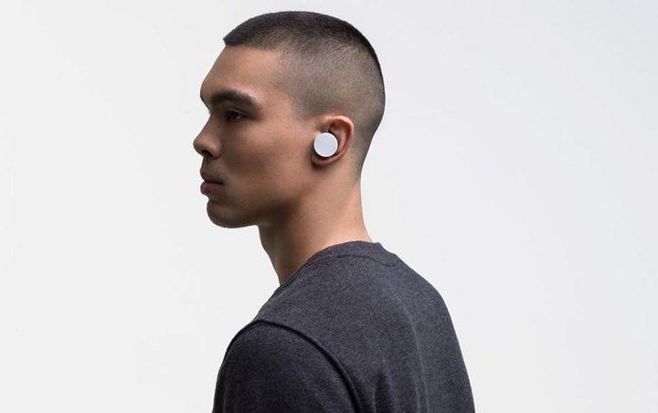 """Die neuen """"Surface Earbuds""""."""