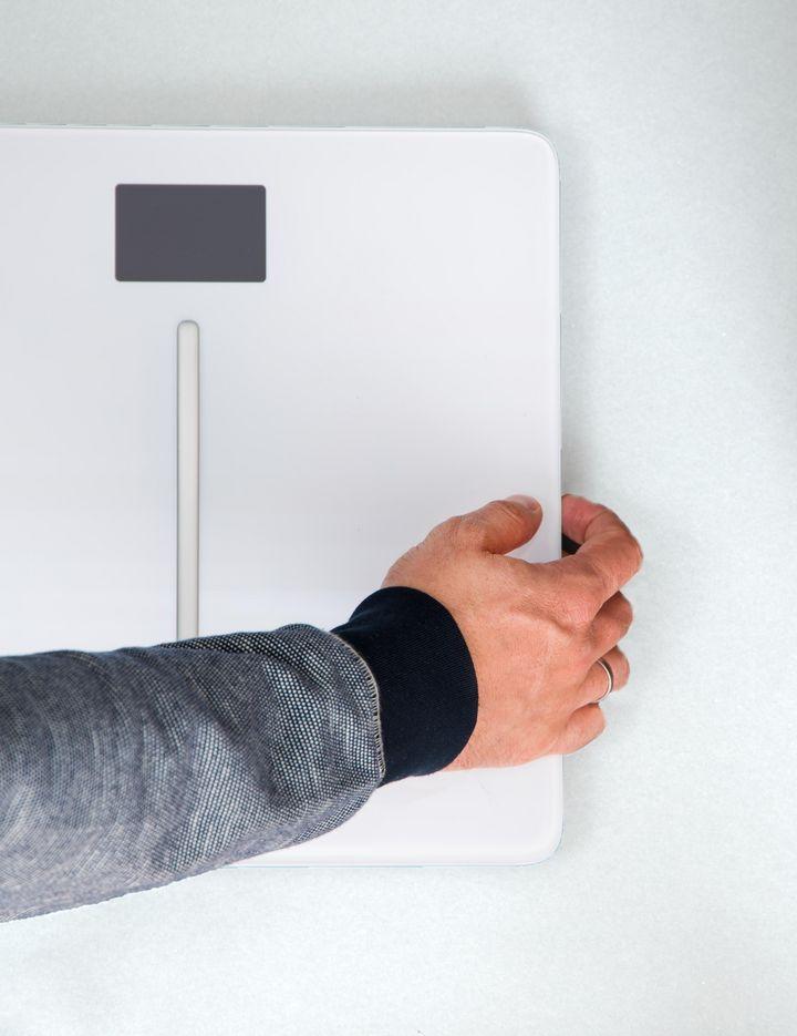 """Neben der grafischen Darstellung der persönlichen Entwicklung von Körpergewicht, Fettmasse, Knochenmasse, Muskelmasse oder Herzfrequenz misst die """"Body Cardio"""" von Withings einen bis dato praktisch unbekannten Wert: die Pulswellengeschwindigkeit."""