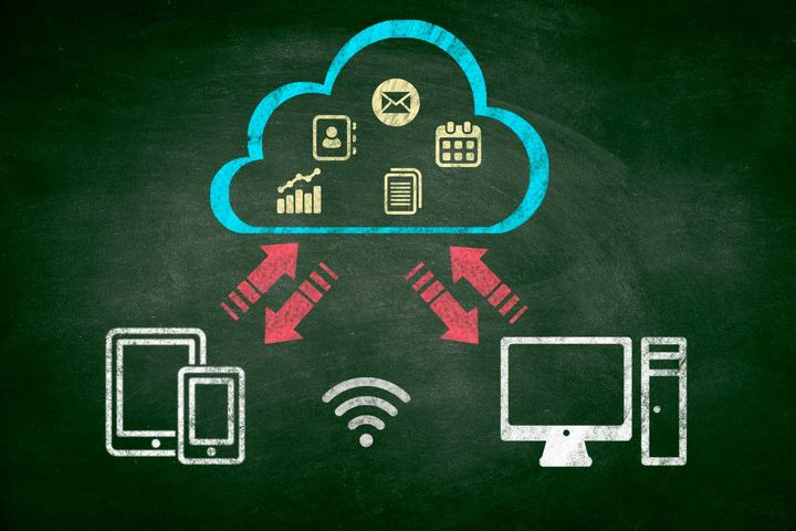 Die Cloud ist eine praktische und einfache Lösung.