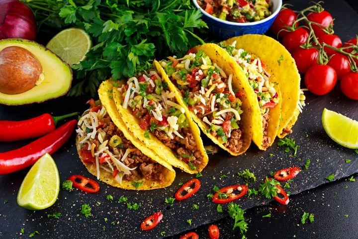 Tacos sind vielseitige Snacks.