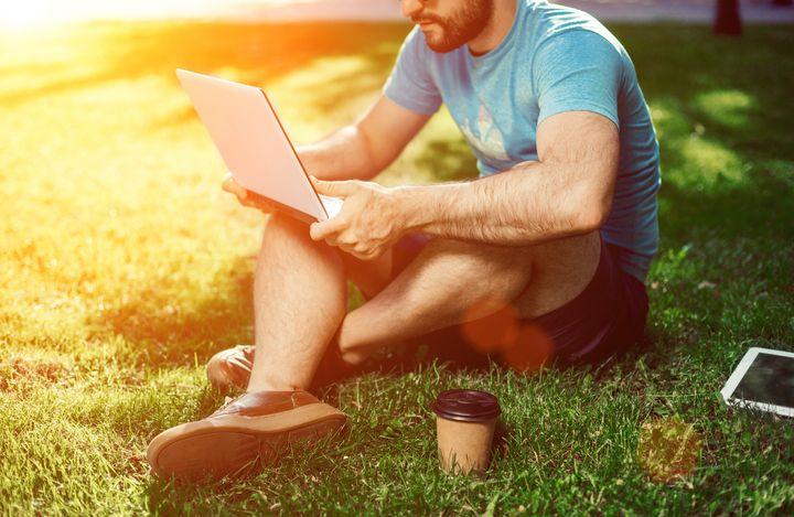 Auch Laptops können negativ auf die Hitze reagieren.