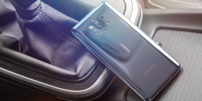 """Das """"Nokia 9 PureView"""" im Detailblick."""