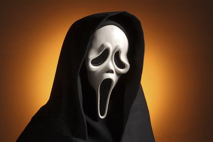 """Die """"Ghostface""""-Maske des Mörders in der """"Scream""""-Filmreihe ist mittlerweile Kult."""
