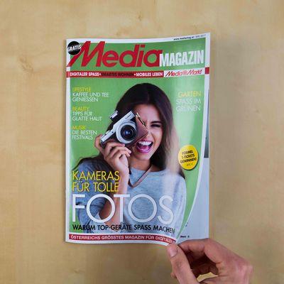 Hier ist das Mediamagazin im Mai.