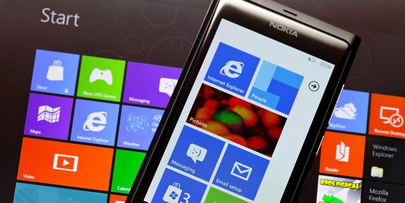 Nokia Smartphone und Tablet