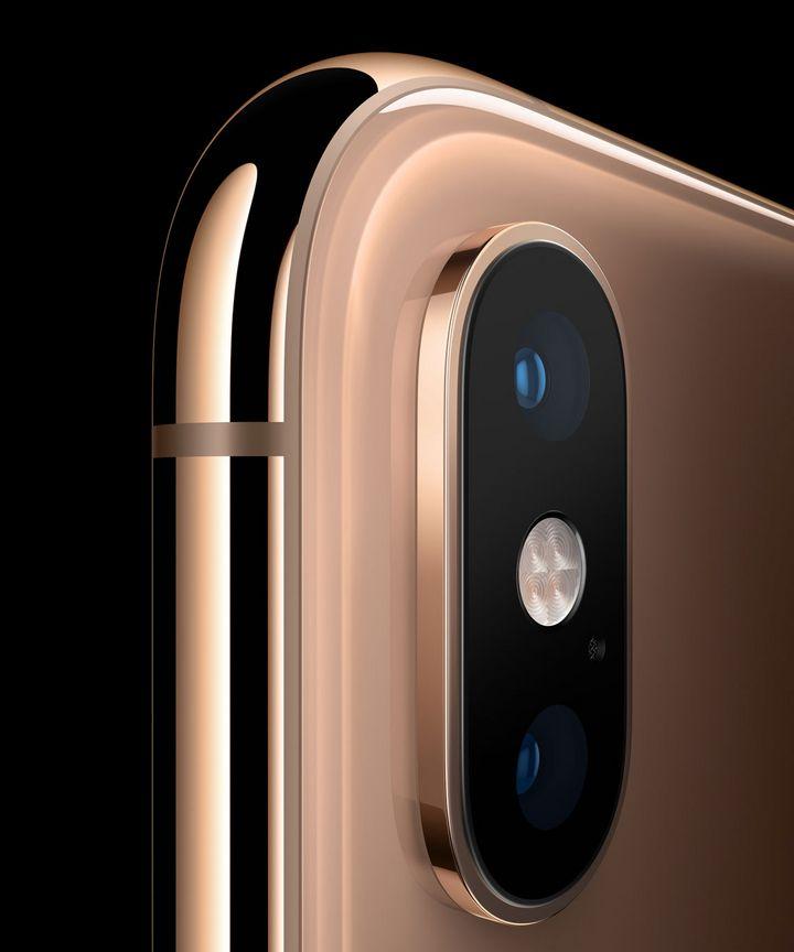 Die Kamera des iPhone Xs.