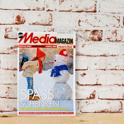 Das Mediamagazin  im Dezember