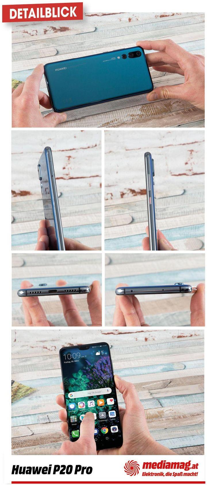 Die wichtigsten Details des Huawei P20 Pro.