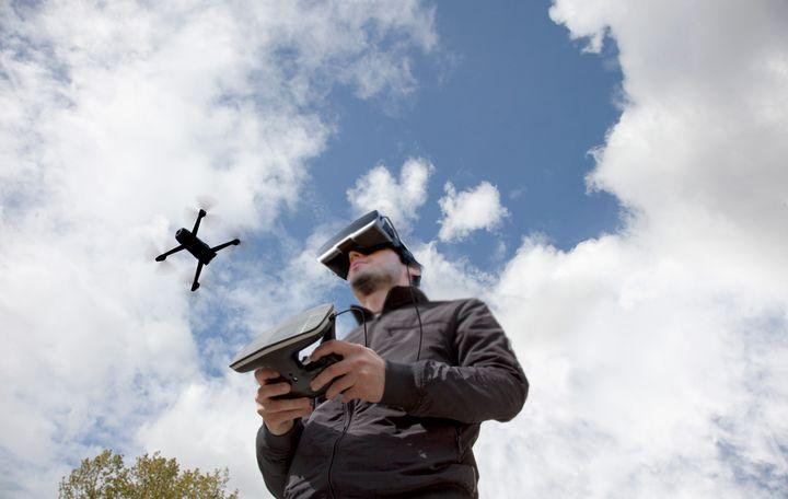 Bepop 2 mit VR Brille