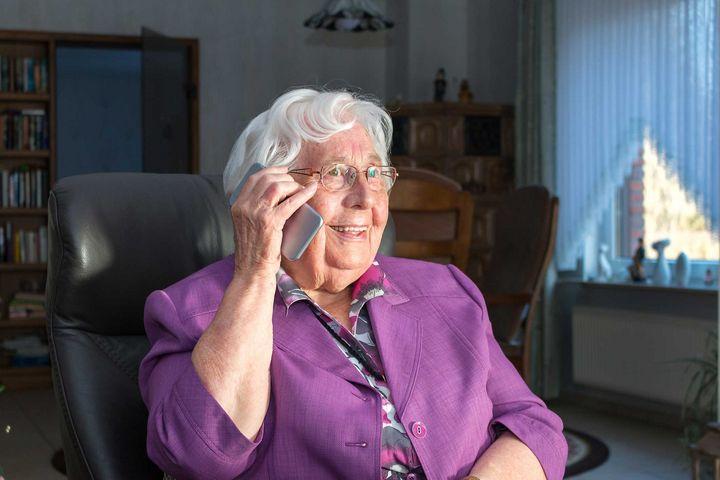 Auch Senioren wollen verbunden bleiben.