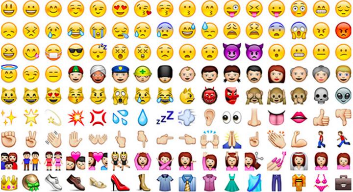 Tier, Menschen, Ereignisse: Das sind Emojis.