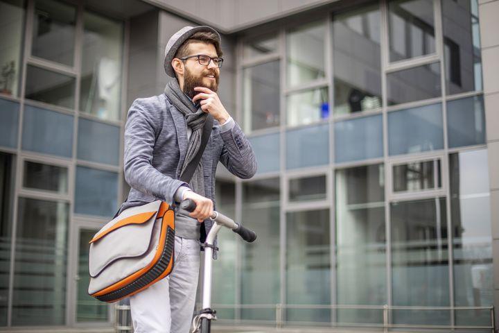 Neue Rechte und Pflichten für E-Scooter-Fahrer.