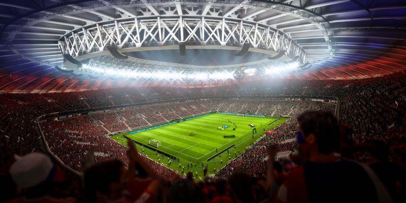 Die Fußball-Weltmeisterschaft hält Einzug in FIFA 18