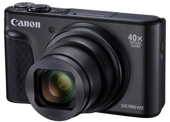 "Die Canon ""Poweshot SX740 HS""."