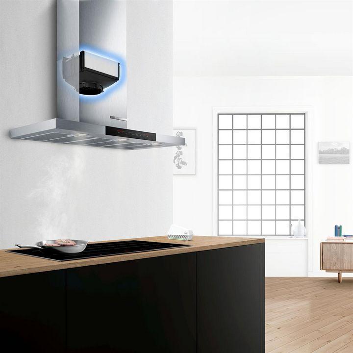 """Dunstabzugshauben von Bosch funktionieren mit der """"Home Connect""""-App."""