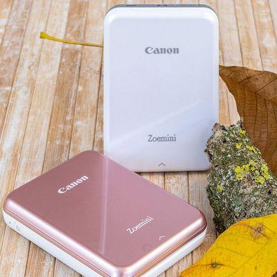"""Fotos ausdrucken mit dem """"Zoemini"""" von Canon."""