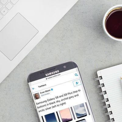 Leak der Farben des neuen Samsung Galaxy S8.