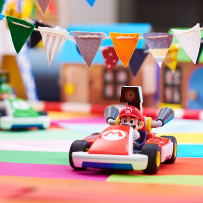 Mehr Rennspaß mit Mario Kart Live Home Circuit