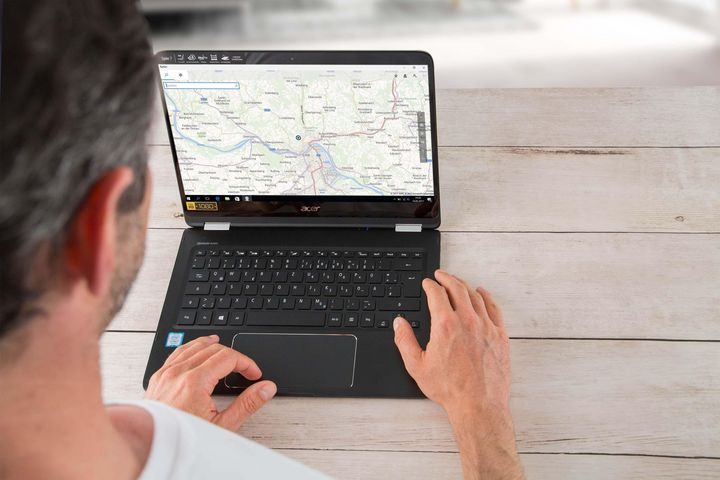 Das Acer Spin 7 präsentiert sich als flexibler Allrounder.