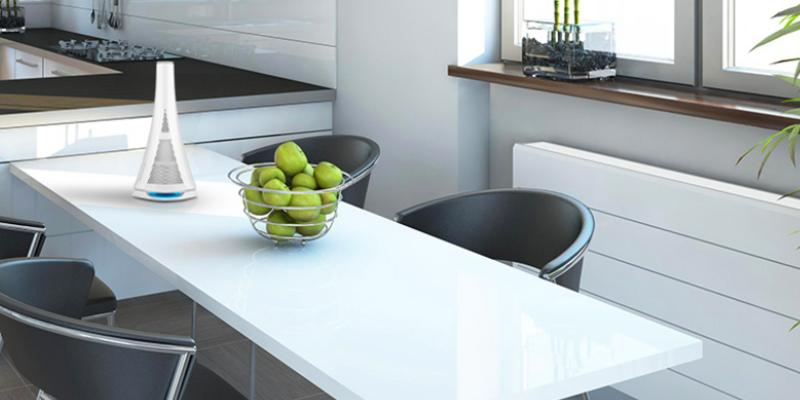 Das dekorative Design macht den MEDISANA AIR zum Hingucker im Wohnraum.
