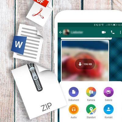 WhatsApp: Jetzt ist das Versenden von zahlreichen Dateiformaten möglich.