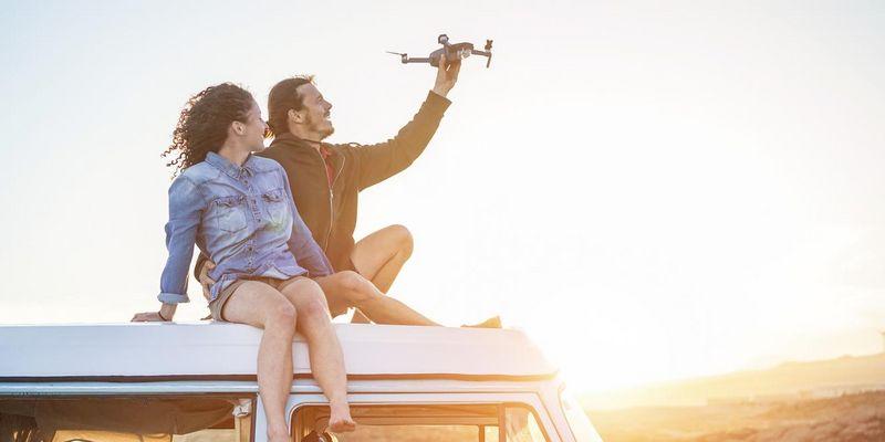 Drohne fliegen lassen