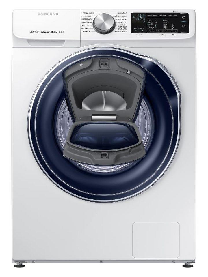 Features wie Samsung QuickDrive, AddWash für nachträgliches Zugeben von Kleidungsstücken und Dampfprogrammen, die Allergene und Bakterien entfernen, sind die Highlights moderner Wäschepflege.