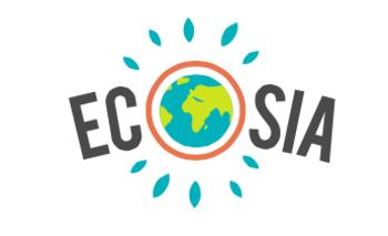 Suchseite Ecosia