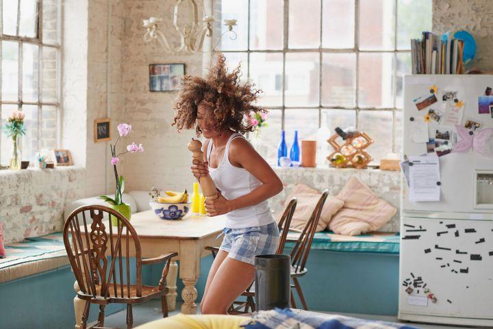 Spaß in der Küche.
