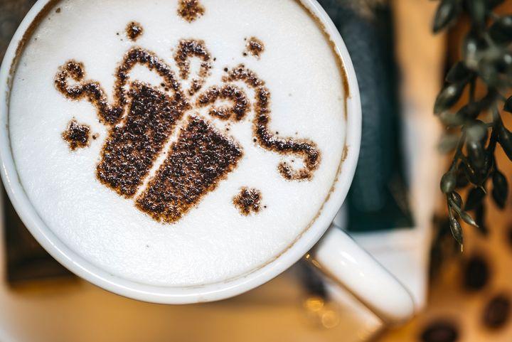 Kaffeegeschenk zu Weihnachten