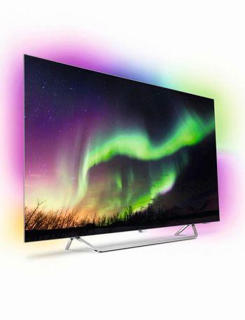 """Der OLED-TV """"OLED873"""" von Philips."""