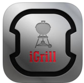 """die App """"iGrill"""" von Weber für iOS oder Android"""