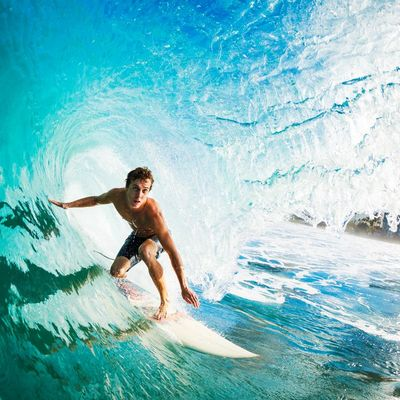Top-Surf-Aufnahmen mit der Action-Cam und dem Handy.