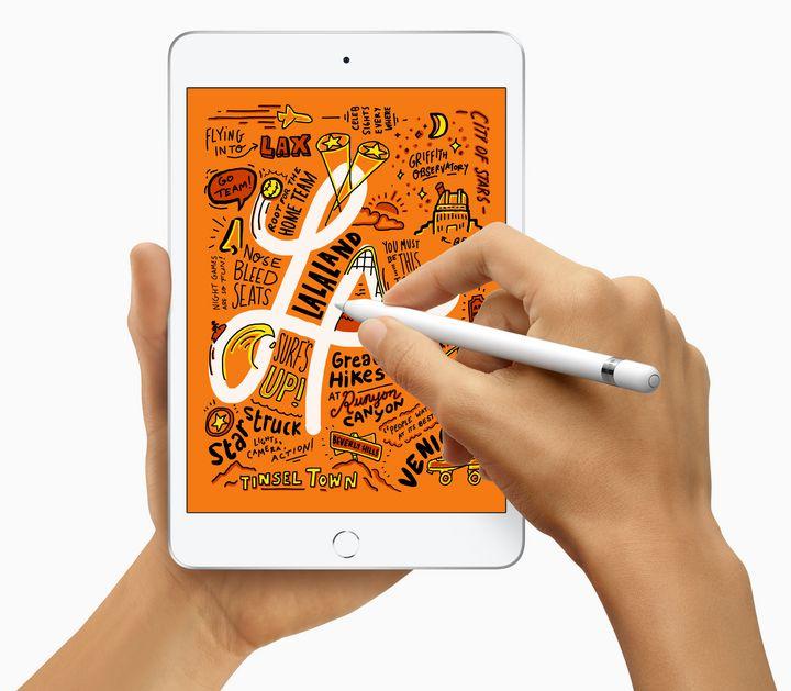 Die kleine Variante des Apple-Tablets bietet dank True Tone-Technologie die höchste Pixeldichte aller iPads.