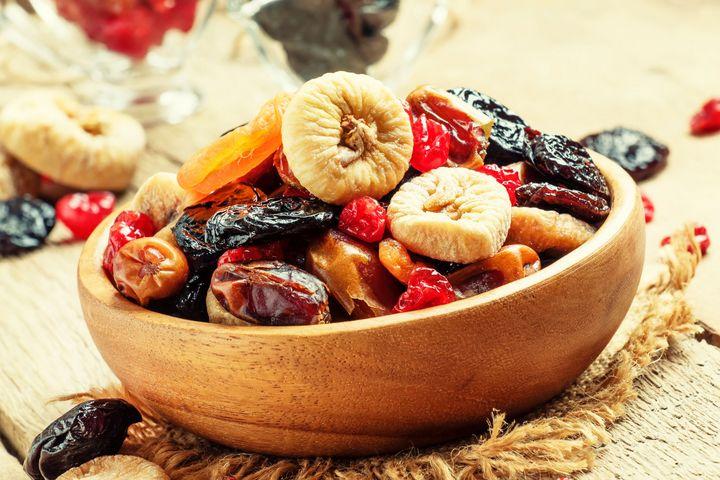 Gedörrtes Obst ist ein gesunder, leckerer und preiswerter Snack.
