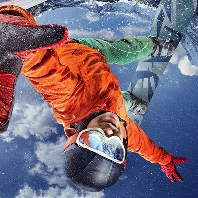 So gelingen winterliche Sport-Fotos