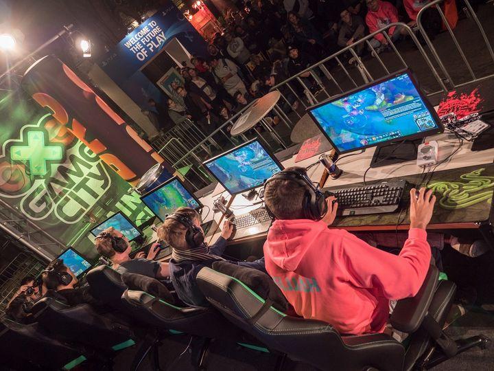 E-Sport ist Trend-Thema der Game City 2018.